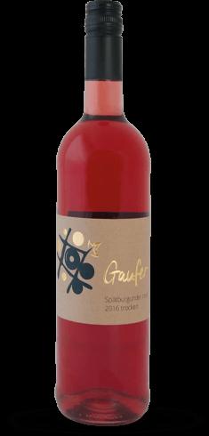 Flasche Spätburgunder Rosé trocken